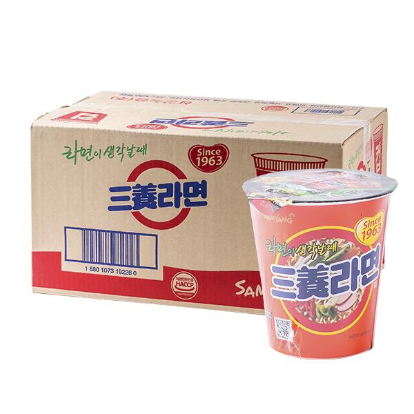 삼양 삼양라면소컵65g(30개)이식사