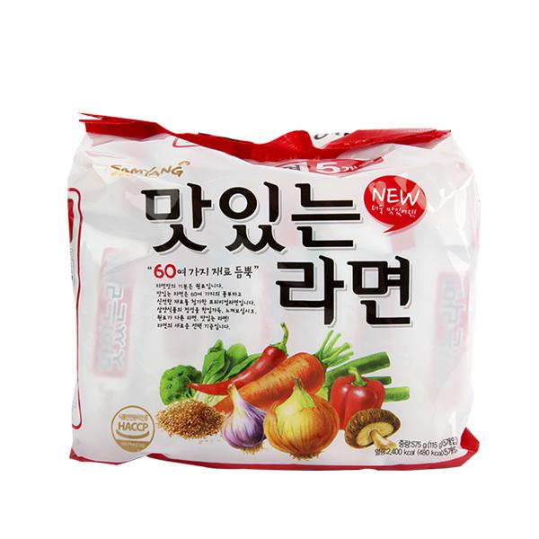 삼양 맛있는라면115g(5개)