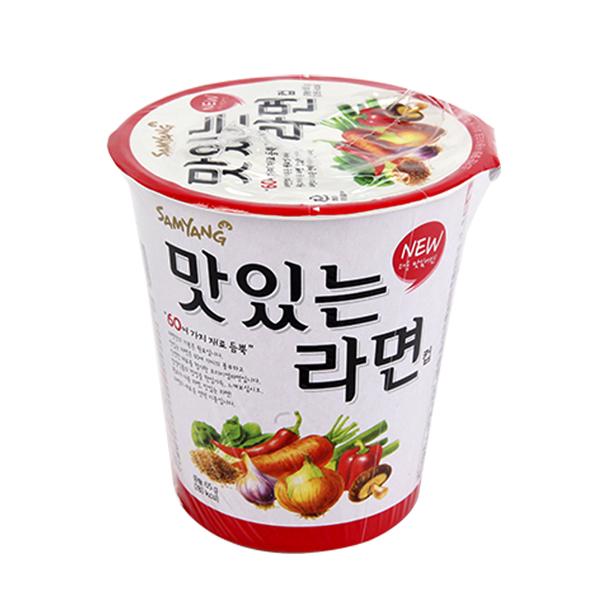 삼양 맛있는라면소컵65g이식사