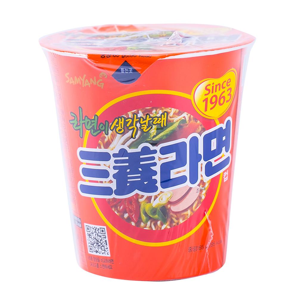 삼양 삼양라면소컵 65g