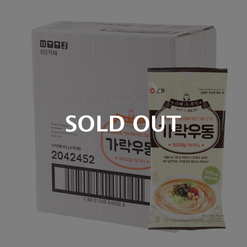샘표 가락국수137.8g(10개)이식사