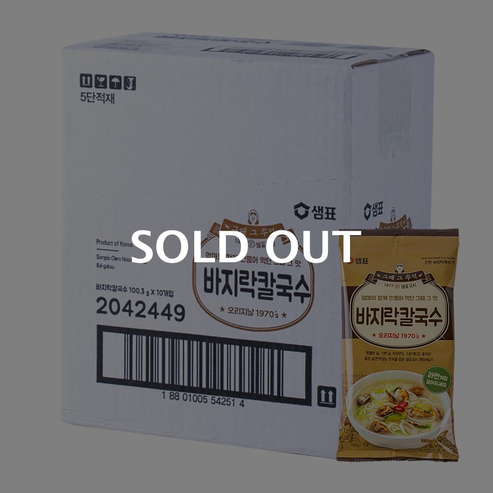 샘표 바지락칼국수111g(24개)이식사