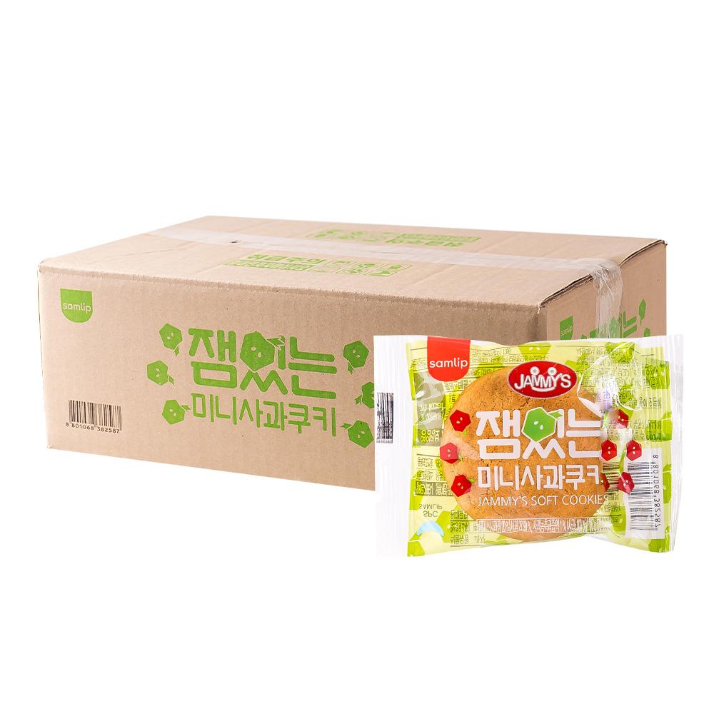 삼립 사과맛쿠키16g(100개)이식사