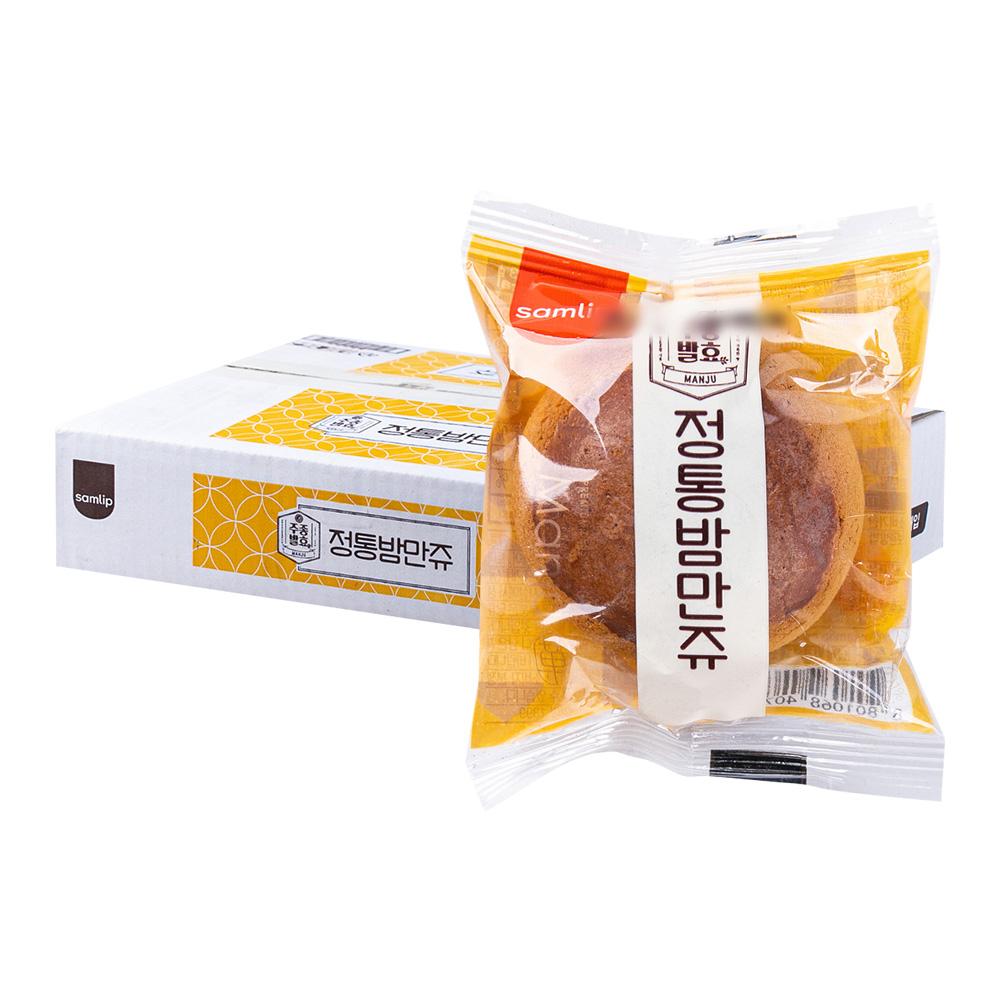 삼립 정통밤만쥬23g(50개) (박스)이식사