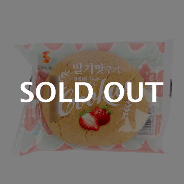 삼립 딸기맛쿠키75g이식사